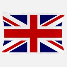 Union Jack Flag of the United Kingdom Pillow Case