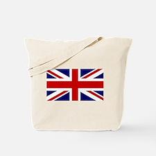Union Jack Flag of the United Kingdom Tote Bag