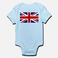 Union Jack Flag of the United King Infant Bodysuit