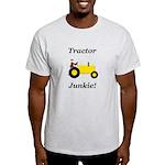 Yellow Tractor Junkie Light T-Shirt