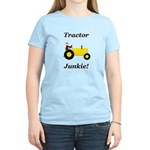 Yellow Tractor Junkie Women's Light T-Shirt