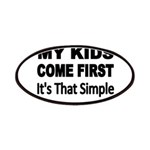 My Kids Come First. Its that simple. Patches