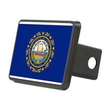 New Hampshire flag Hitch Cover