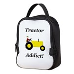 Yellow Tractor Addict Neoprene Lunch Bag