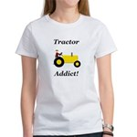 Yellow Tractor Addict Women's T-Shirt