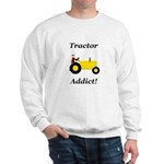 Yellow Tractor Addict Sweatshirt