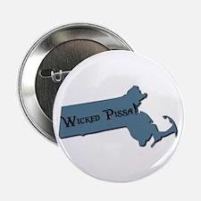 Wicked Pissa Massachusetts Button
