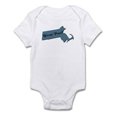 Wicked Pissa Massachusetts Infant Bodysuit
