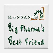 Cute Monsanto Tile Coaster