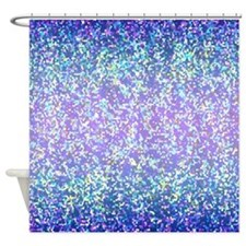 Glitter 2 Shower Curtain