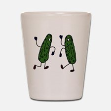 Funny Pickles Dancing Shot Glass