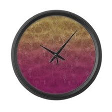Floating Keys Large Wall Clock