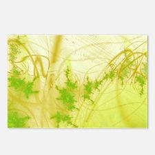 Spring Fractal Postcards (Package of 8)