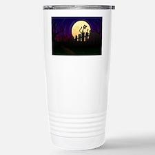 Halloween Fence Travel Mug