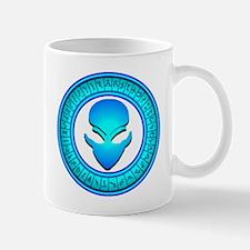 Blue Stargate Alien Mug