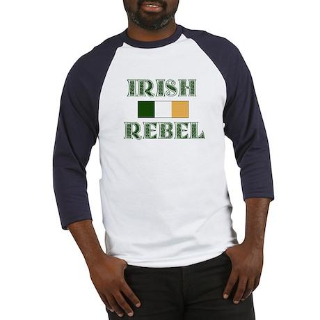 Irish Rebel w/Flag Baseball Jersey
