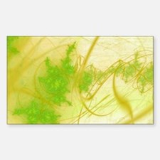Spring Fractal Rectangle Decal