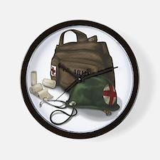 Army Medic Wall Clock