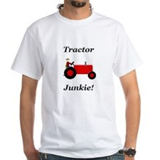 Red Tractor Junkie Shirt