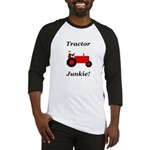Red Tractor Junkie Baseball Jersey