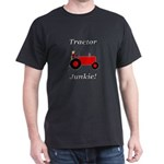Red Tractor Junkie Dark T-Shirt