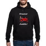 Red Tractor Junkie Hoodie (dark)