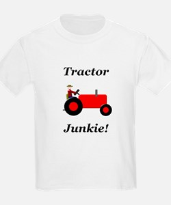 Red Tractor Junkie T-Shirt