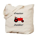 Red Tractor Junkie Tote Bag