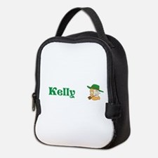 Kelly Custom Name Leprechaun St Patricks Lunch Bag