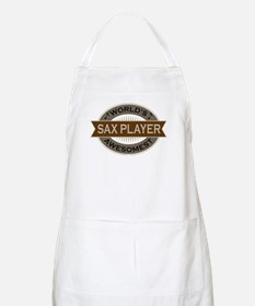 Awesome Sax Player Apron