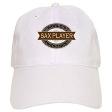 Awesome Sax Player Baseball Cap