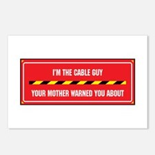 I'm the Cable Guy Postcards (Package of 8)