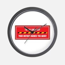 I'm the Cable Guy Wall Clock