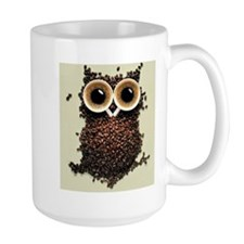 Coffee Bean Owl Mugs