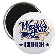Baseball Coach (Worlds Best) Magnet