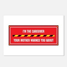 I'm the Caregiver Postcards (Package of 8)