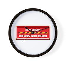 I'm the Caregiver Wall Clock