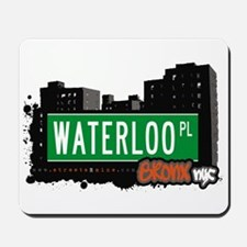 Waterloo Pl, Bronx, NYC Mousepad