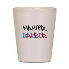 MASTER BARBER Shot Glass