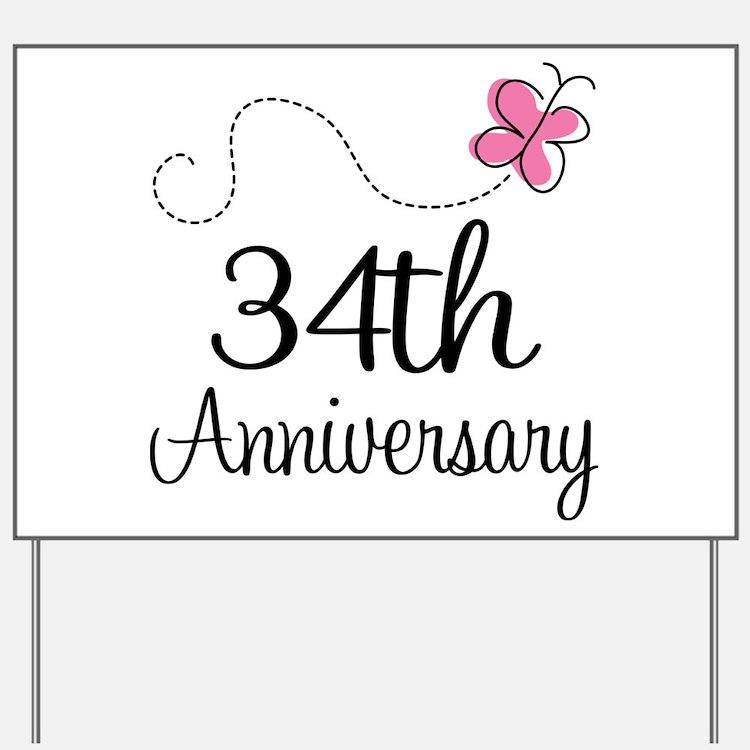 34th wedding anniversary 34th wedding anniversary hobbies