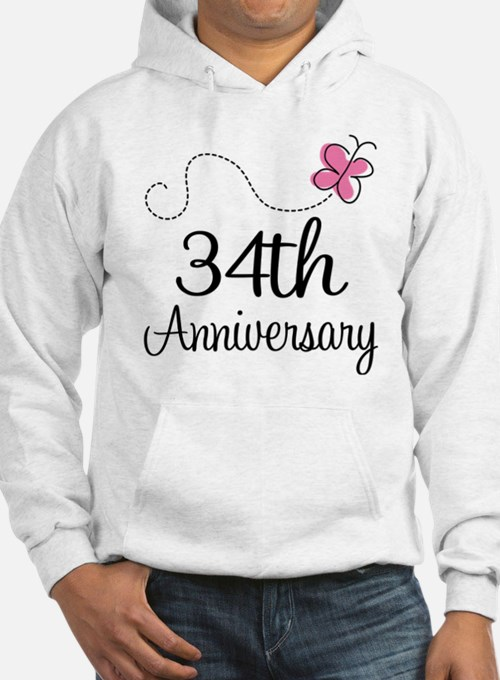 34th Anniversary Butterfly Hoodie