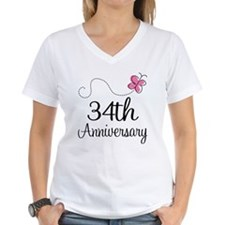 34th Anniversary Butterfly Shirt