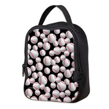 Baseball Neoprene Lunch Bag