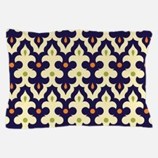Damask paisley arabesque Moroccan patt Pillow Case