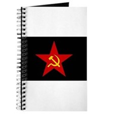 Unique Hammer and sickle Journal
