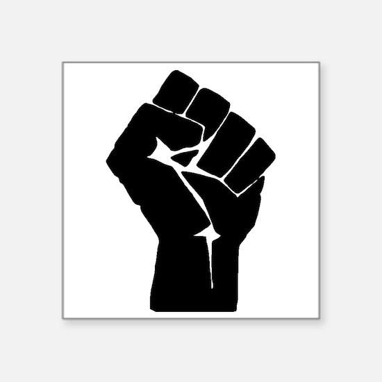 Solidarity Salute Sticker