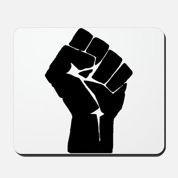 Solidarity Salute Mousepad