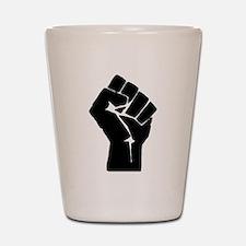 Solidarity Salute Shot Glass