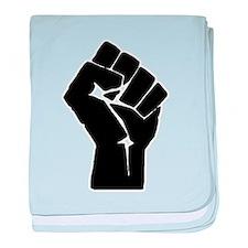 Solidarity Salute baby blanket