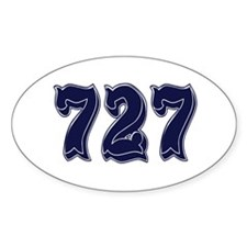 727 Rectangle Decal